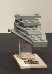 LEGO Star Wars Celebration April 2015 California Imperial Star Destroyer Mini