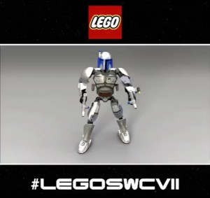 LEGO Star Wars Constraction  Jango Fett Buildable Figure 2015 September