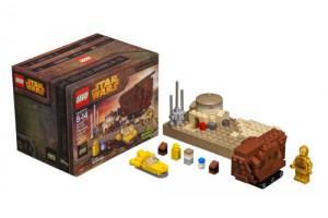 LEGO Star Wars Tatooine Mini-build Set April 2015 Star Wars Celebration Anaheim California
