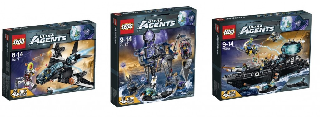 LEGO Ultra Agents Summer 2015 Set Images 70171 70172 70173 - Toysnbricks