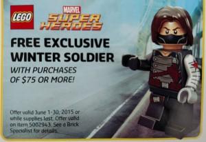 LEGO Winter Soldier 5002943 Minifigure Promotion June 2015