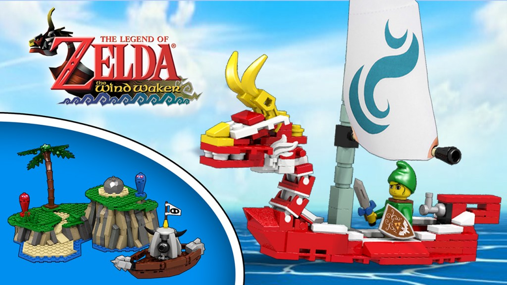 LEGO Legend of Zelda King of Red Lion 1024 x 576