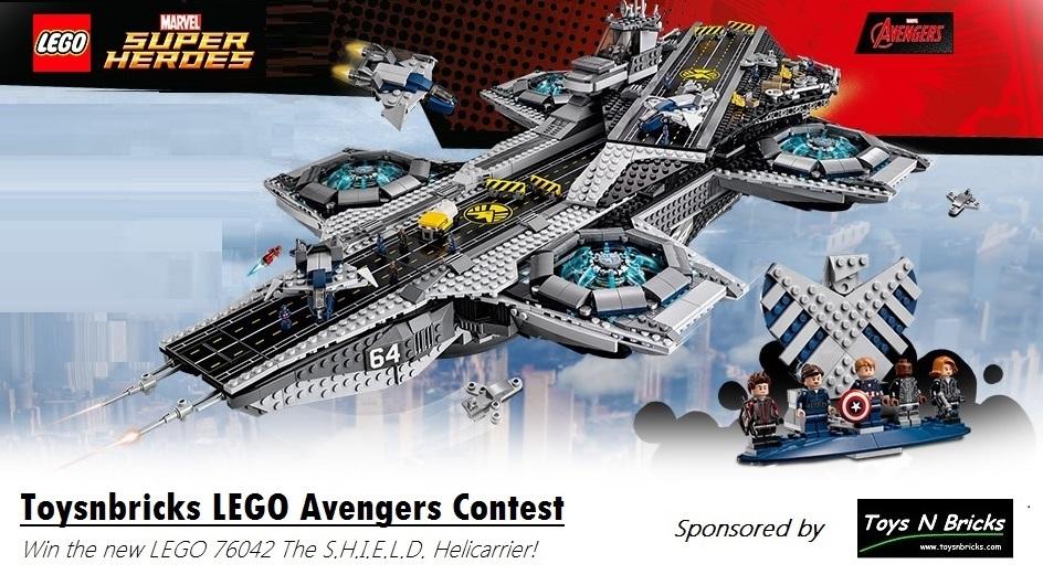 Toysnbricks LEGO Avengers 2015 Contest