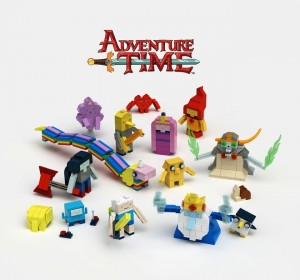 Brick-Build Adventure Time Figures LEGO Ideas Potential Set - May 2015