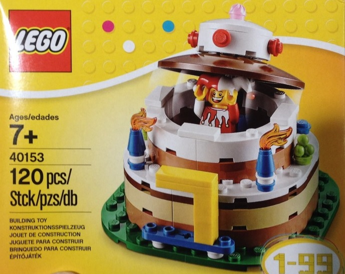 LEGO 40153 Birthday Cake 2015 Pre
