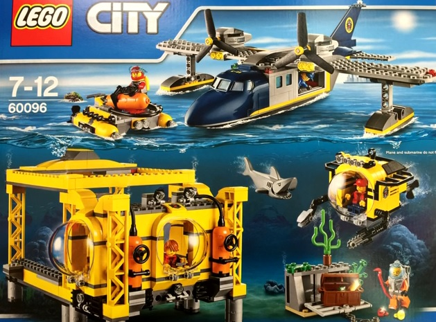 LEGO City 60096 Deep Sea Operations Base (Pre)