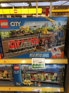 LEGO City 60098 Heavy Haul Cargo Train (Pre) LEGOLand Billund