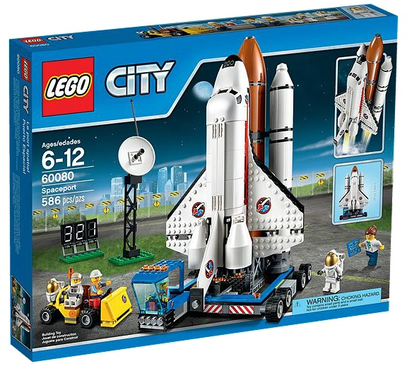 LEGO City Spaceport 60080 - Toysnbricks