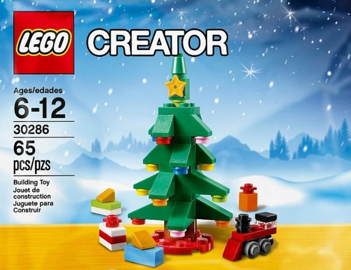 lego creator 30286 christmas tree holiday polybag set 2015 - Christmas Tree Deals