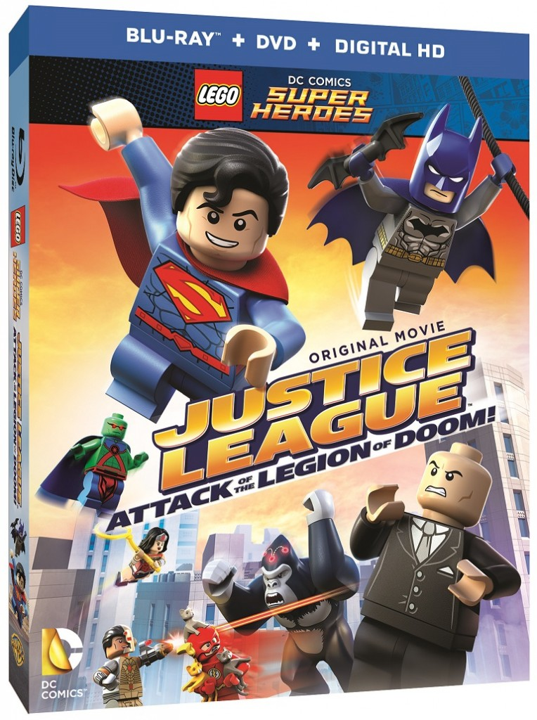 LEGO DC Comics Super Heroes Justice League Attack of the Legion of Doom Video Game August 2015