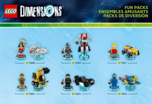 LEGO Dimensions Fun Packs 71209 71210 71211 71212 71213 71214 (Pre)