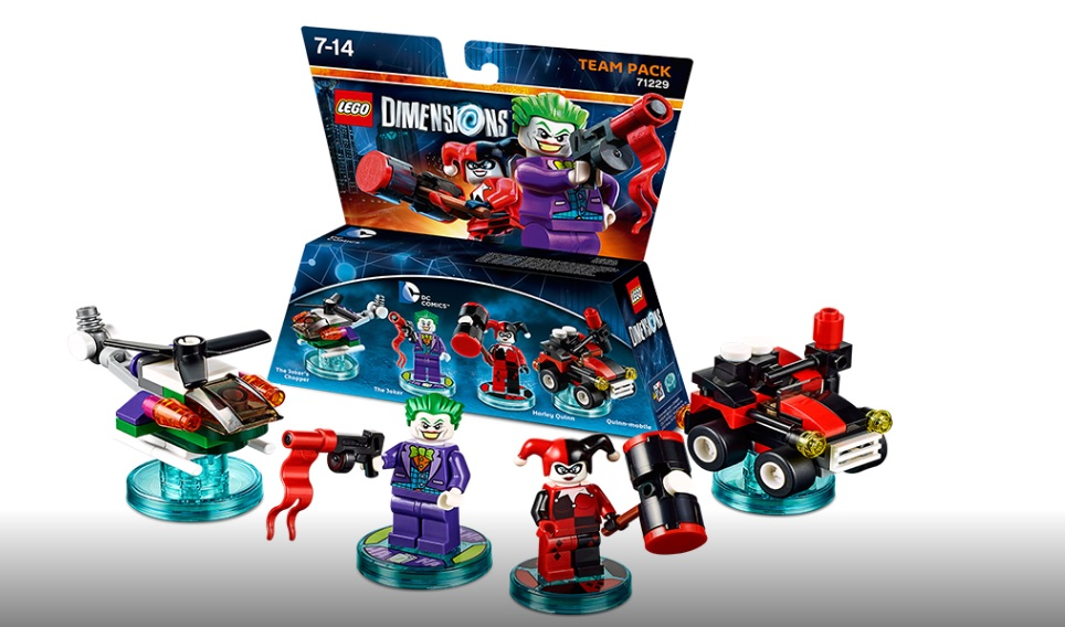 LEGO Dimensions Team Pack 71229 Joker and Harley Quinn (Pre)