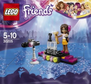 LEGO Friends 30205 Pop Star Polybag set