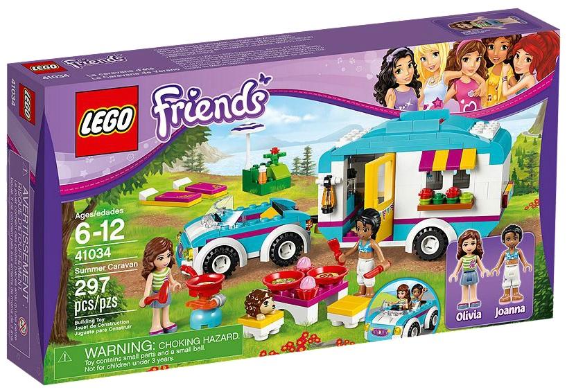 LEGO Friends 41034 Summer Caravan - Toysnbricks