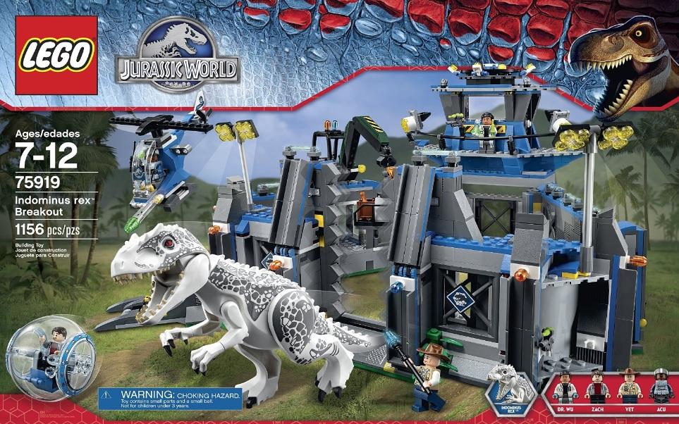 LEGO Jurassic World 75919 Indominus Rex Breakout - Toysnbricks