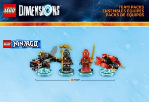 LEGO Ninjago Dimensions Team Packs 71207 (Pre)