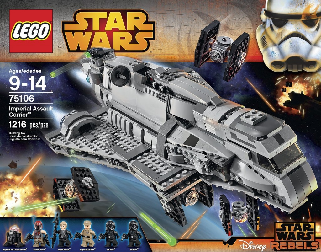 LEGO Star Wars 75106 Imperial Assault Carrier - Toysnbricks