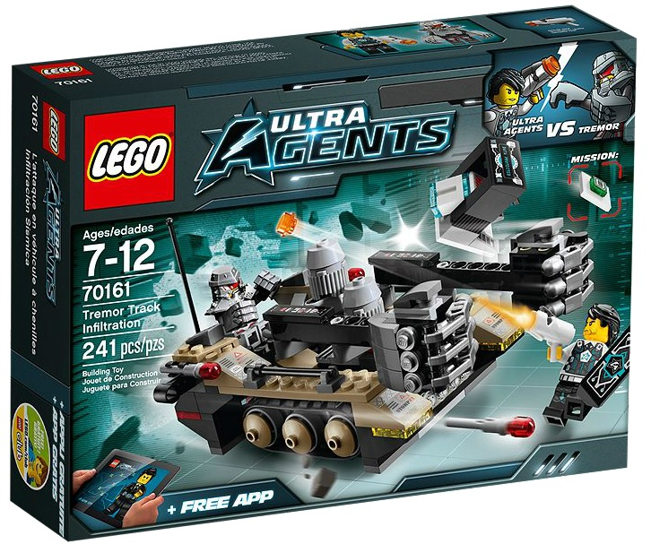LEGO Ultra Agents 70161 Tremor Track Infiltration - Toysnbricks