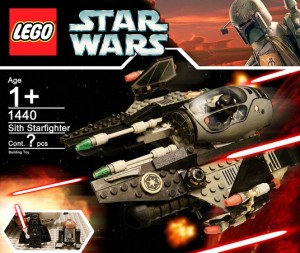 [MOC] LEGO Star Wars Darth Vader Sith Starfighter