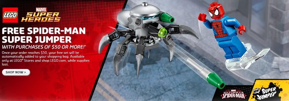 Marvel Super Heroes LEGO Spider-Man Super Jumper 30305 Polybag Set - Toysnbricks
