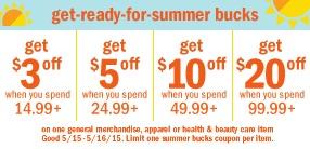Meijer USA mPerks Summer Bucks LEGO Sale May 2015