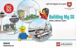 Singapore Independence Set LEGO Education 2000446 Building My SG Reflect, Celebrate, Inspire