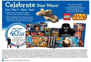 ToysRUs LEGO Star Wars Sale May the Fourth 2015 Event