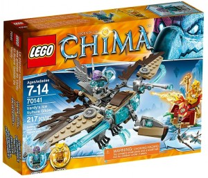 70141 LEGO Chima Vardy's Ice Vulture Glider - Toysnbricks