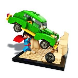 DC Comics LEGO SDCC 2015 Exclusive Set Joe Shuster's Action Comics #1 Superman