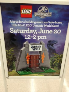 Jurassic World LEGO Building Event June 2015 ToysRUs USA