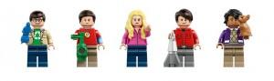 LEGO 21302 The Big Bang Theory Set Minifigures 2016