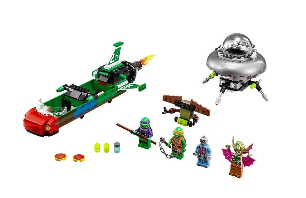 LEGO 79120 Teenage Mutant Ninja Turtles T-Rawket Sky Strike - Toysnbricks