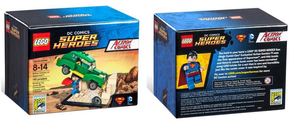 LEGO DC Comics Super Heroes Action Comics #1 Superman SDCC 2015 Exclusive Set
