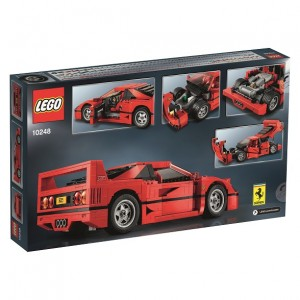 LEGO Expert 10248 Ferrari F40 Back Box Image (Press Release)