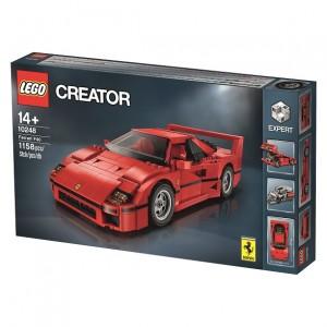 LEGO Expert 10248 Ferrari F40 Box Image (Press Release)
