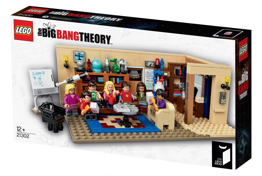 LEGO Ideas 21302 Big Bang Theory Box Image Set