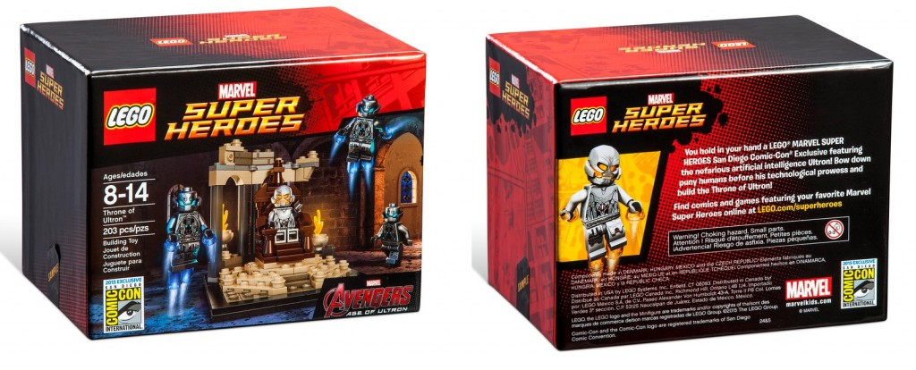 LEGO Marvel Super Heroes Throne of Ultron SDCC 2015 Exclusive Set