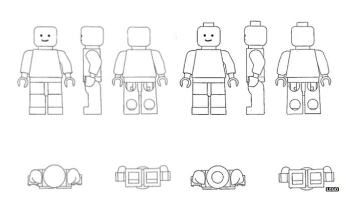 LEGO Minifigure Patent Trademark