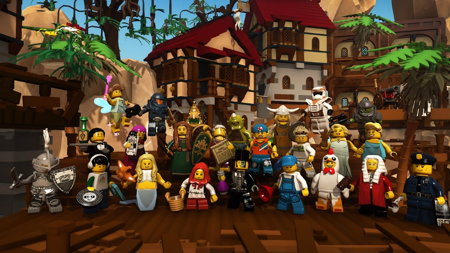 LEGO Minifigures Online Video Gameplay