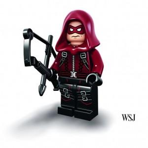 LEGO SDCC 2015 Minifigure of Arsenal Arrow