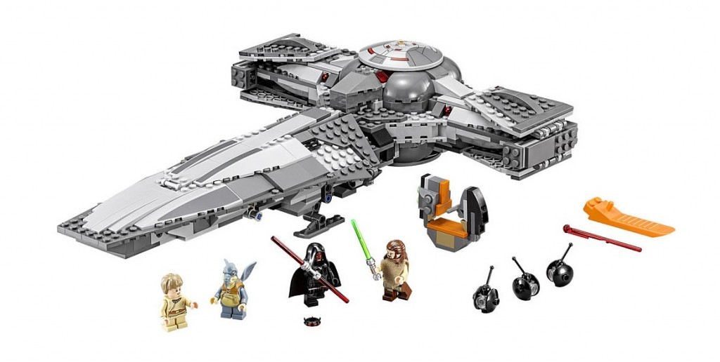 LEGO Star Wars 75096 Sith Infiltrator Set Image
