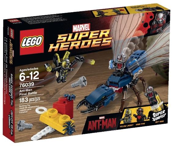 LEGO Star Wars 76039 Ant-Man Final Battle - Toysnbricks