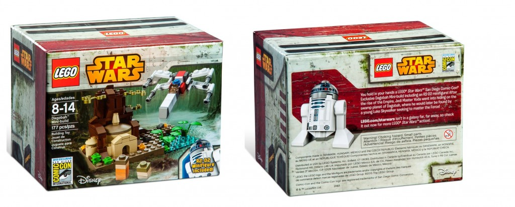 LEGO Star Wars Dagobah Mini-Build SDCC 2015 Exclusive Set