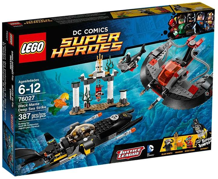 LEGO Super Heroes DC Comics 76027 Black Manta Deep Sea Strike - Toysnbricks