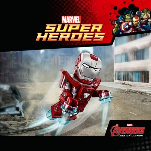 5002946 Marvel LEGO Silver Centurion Iron Man Minifigure GameStop Exclusive 2015