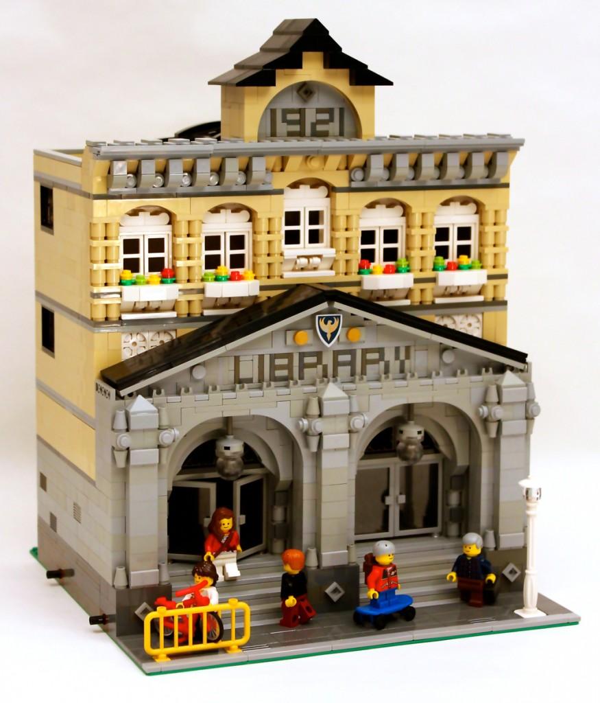 Modular Library Potential LEGO Ideas Creation June 2015 JGreeny