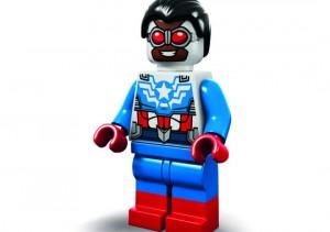 SDCC 2015 LEGO Sam Wilson Captain America Minifigure Exclusive Marvel Super Heroes