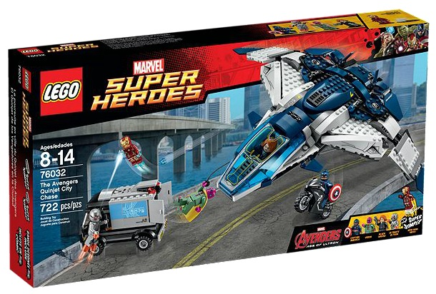 76032 LEGO Marvel Super Heroes The Avengers Quinjet City Chase - Toysnbricks
