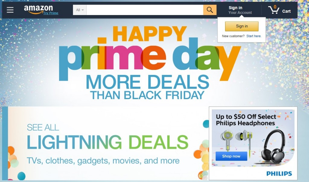 Amazon Prime Day July 2015