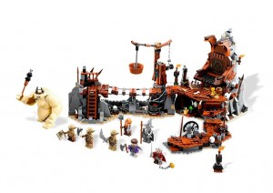 LEGO 79010 Lord of the Rings Hobbit Goblin King Battle - Toysnbricks